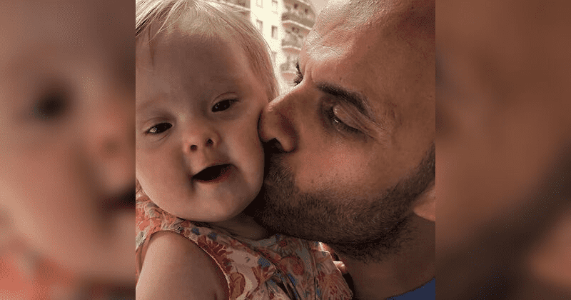 Single Dad Adopts Baby Girl With Down Syndrome After She Was