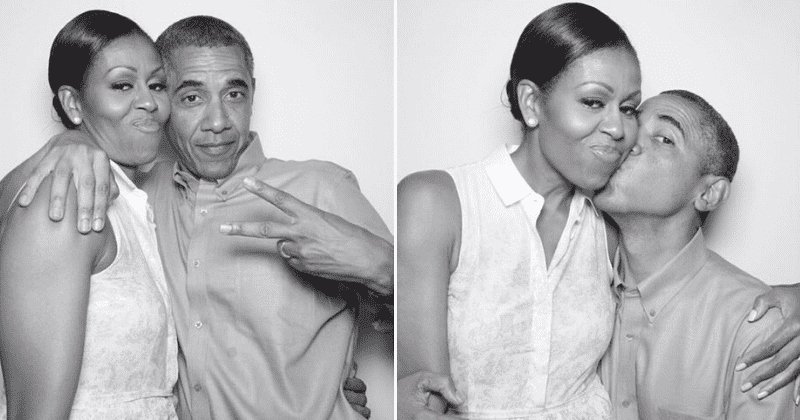 It's Michelle Obama's birthday today and Barack wants you to know she's his star